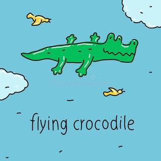 Телеграм канал Крокодил полетел